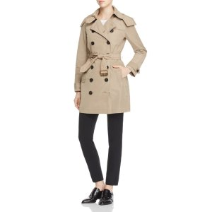 Burberry Balmoral Hooded Trench Coat | Bloomingdale's