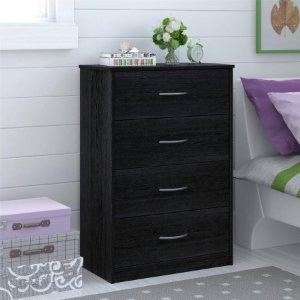 Mainstays 4-Drawer Easy Glide Dresser, Multiple Finishes - Walmart.com