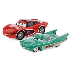 Lightning McQueen & Flo Die Cast Set | Disney Store