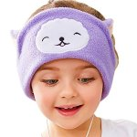 Firik Kids Soft Fleece Adjustable Headband Headphones