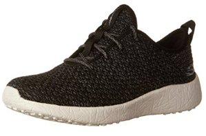 £18.6Skechers Women's Burst Low-Top Sneakers, Black/White