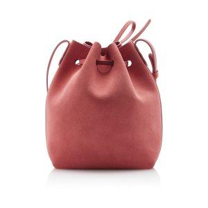 Suede Mini Bucket Bag by Mansur Gavriel