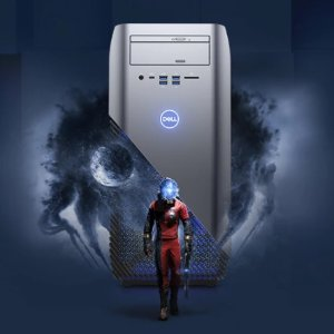 Dell Inspiron Gaming Desktop ( Ryzen 7 1700X, 8GB DDR4, 1TB HDD, RX 580 8GB)