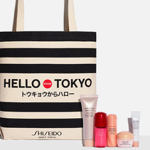15% Off + Choose up to $107 value GWPwith $75 Shiseido Purchase @ Nordstrom