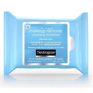 Neutrogena Cleansing Towelettes, Pre-moistened, Makeup Remover, Refill Pack, 25 towelettes
