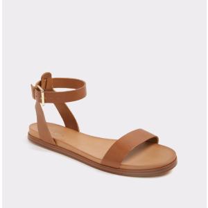 Gwenna Medium Brown Women's Flats | ALDO US