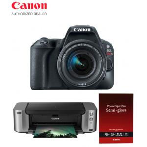 Extra $350 RebateSave Big on Select Canon DSLR Cameras + Pro-100 Printer Bundles