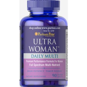 Ultra Woman™ Daily Multi Timed Release 90 Caplets | Lifestyle - Women's Supplements | Puritan's Pride