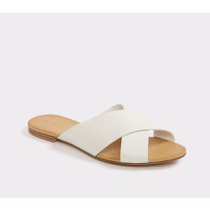 Cammila White Women's Slides | ALDO US