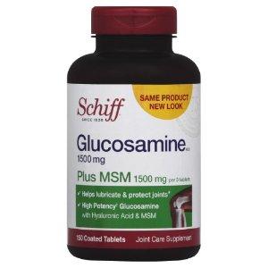 Schiff Glucosamine Plus MSM Coated Tablets, 150 Ct | Jet.com
