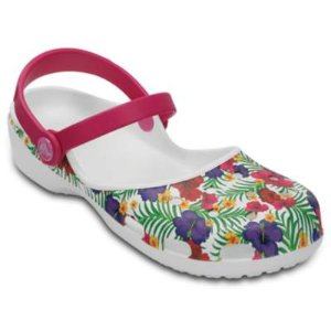 Women's Karin: Leopard and Floral Printed Clogs - Crocs