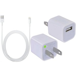 Apple USB Wall Charger & Lightning USB Cable
