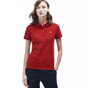 Women's Classic Fit Piqué Polo Shirt | LACOSTE
