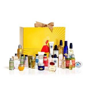 Luxury Beauty Advent Calendar | Holiday Gift Set | L'Occitane