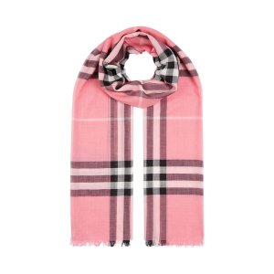 Burberry Gauze Giant Check Scarf |