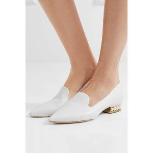 Nicholas Kirkwood | Casati embellished leather loafers