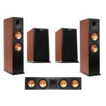 Klipsch 2x RP-280FA Floorstanding Speaker Cherry/RP-160M Bookshelf Spkr/RP-440C