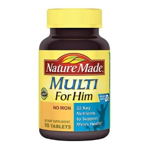 Nature Made Multi For Him Dietary Supplement Tablets | Walgreens