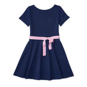 Ponte Fit-and-Flare Dress - Dresses & Rompers � Girls' 7-16 - RalphLauren.com