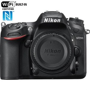 BuyDig.com - Nikon D7200 DX 24.2MP Digital SLR Camera Body with WiFi NFC - Manufacturer Refurbished