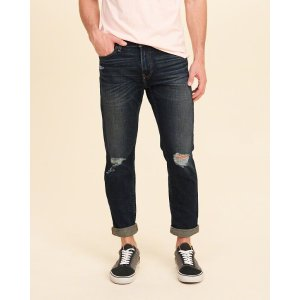 Guys Skinny Ankle Jeans | Guys Bottoms | HollisterCo.com
