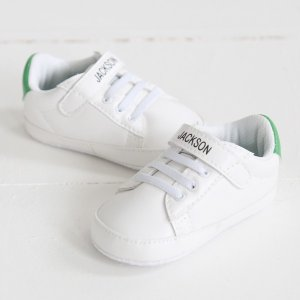 Personalised Velcro Trainers - Green | My 1st Years