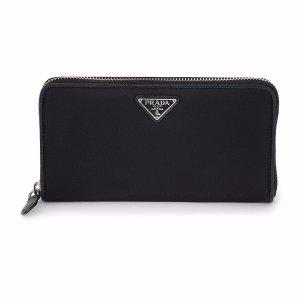 Prada Black Zip-Up Wallet | zulily