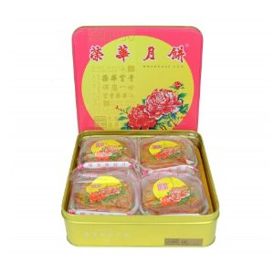 Wing Wah Lotus Seed Paste Mooncake (2 Yolks) 740g