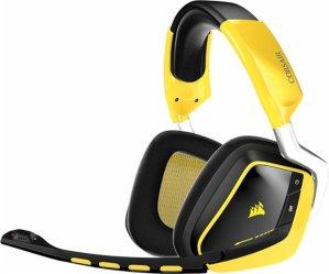 $79.99海盗船Corsair VOID 炫彩无线游戏耳机 (黄色)