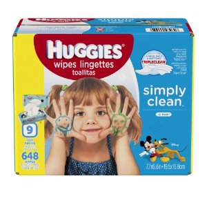 Huggies Simply Clean Fresh Baby Wipes, 648 Count | Jet.com