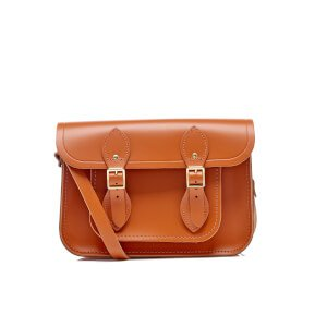 The Cambridge Satchel Company Women's 11 Satchel with Magnetic Closure - Amber