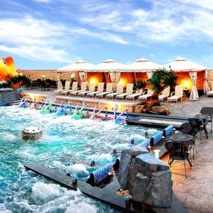 King Spa & Sauna or Spa Castle full Access, Including Indoor Water-Park Attractions