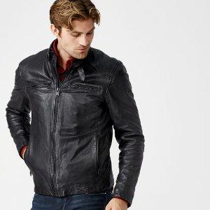 Timberland | Men's Skye Peak Insulated Leather Jacket