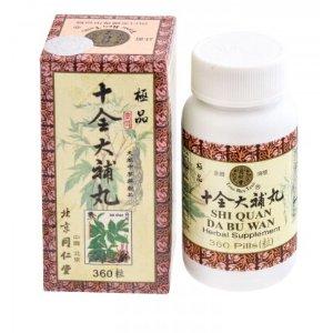 BeiJing TongRenTang Shi Quan Da Bu Wan 360 Pills