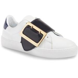 Burberry Westford Buckle Strap Sneaker (Women)