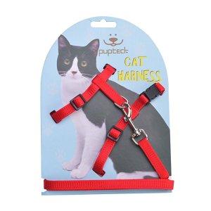 多色款项圈式遛猫绳