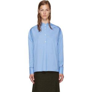 Each x Other: Blue Band Collar Shirt