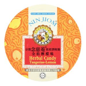 NINJIOM Herbal Candy Tangerine Lemon 60g