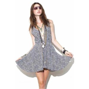 For Love & Lemons Little Lover Dress in Polka Dot