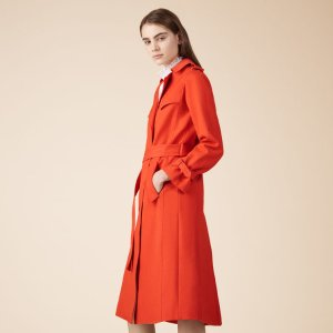 GOLDIE Cotton trench coat
