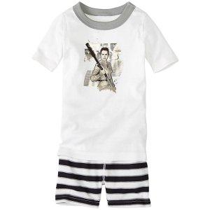 Star Wars™ Kids The Force Awakens Short John Pajamas In Organic Cotton | Girls Short Johns