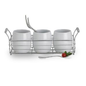 Towle® Living Ceramic Flatware Caddy Set With Stand