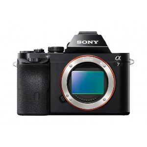 Sony 24.3MP a7 Full-Frame Interchangeable Digital Lens Camera (Body Only)