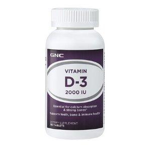 GNC Vitamin D-3 2000 IU