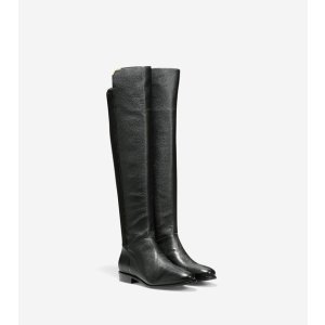 Women's Dutchess Boots in Black Leather | Cole Haan