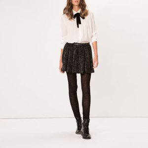 GUAPA Sequinned miniskirt - Skirts & Shorts - Maje.com