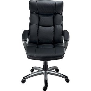 Staples Burlston® Luxura® Managers Chair, Black or Camel | Staples®