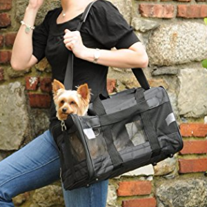 Sherpa Deluxe Pet Carriers 小码 黑色