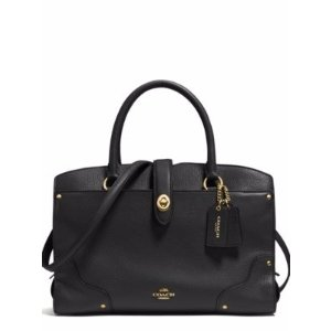 Mercer 30 Grained Leather Satchel