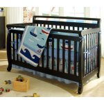 DaVinci Emily 4-in-1 Convertible Crib in Ebony Finish